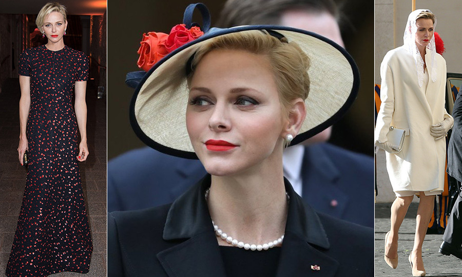 Since welcoming her twins, Prince Jacques and Princess Gabriella on Dec. 10 2015, Princess Charlene of Monaco has proved to be one fashionable mom. The 39-year-old has continuously aced elegant formal wear while showing off her swimmer's physique in show stopping floor-length gowns. 