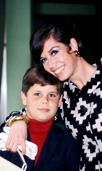 Here, Mary poses with her son, Richard, in 1968. Tragically, he passed away in 1980 of an accidental shooting at the age of 24.