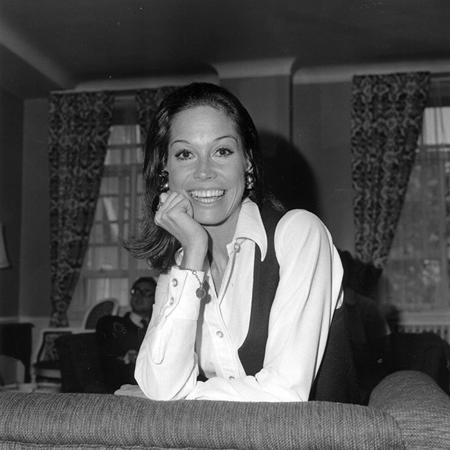 Mary Tyler Moore lost her only child, son Richie, in 1980.	Photo: © Getty Images