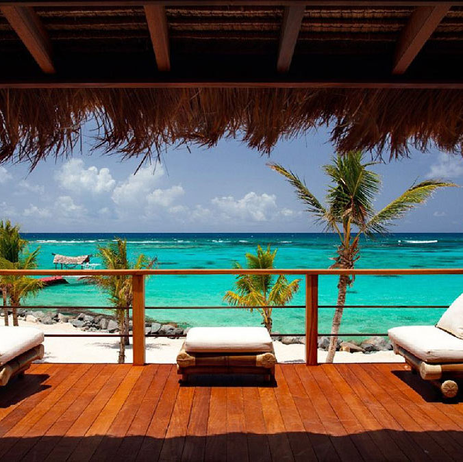 Necker Island is renowned for its privacy and luxury, with accommodation hosting no more than 34 guests, and a staff of 90 on-hand to meet their every need.