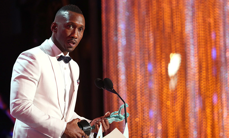 <em>Moonlight</em> star Mahershala Ali gave a powerful speech as he accepted his award for outstanding performance in a dramatic role