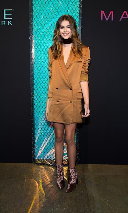 <h3>Kaia Gerber</h3><p>With Cindy Crawford as a mother, it was inevitable that Kaia Gerber was going to become a modelling sensation. Having already landed a Marc Jacobs Beauty campaign and a number of magazine covers, 2017 is likely to be the year that Kaia is catapulted into the big time as she turns 16 in September.</p>