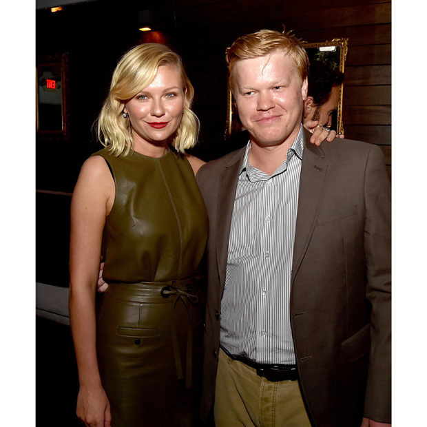 "<h3>Kirsten Dunst and Jesse Plemons</h3><p>Bring on the wedding bells! The actress is engaged to her former onscreen husband Jesse Plemons. Kirsten flashed her sparkly engagement ring during Paris Couture week as she comped bling with Arizone Muse. The couple played married high school sweethearts Peggy and Ed on season 2 of the FX series <em>Fargo</em>. Jesse previously called being able to work with Kirsten ""a gift."" During a panel for 2015 PaleyFest he said, ""I loved Kirsten's work for a long time, and I was really excited once I'd met her, and she's a great person, and we're both actors that just…have fun with the material.""</p><p>Photo: &copy; Kevin Winter/Getty Images</p>"