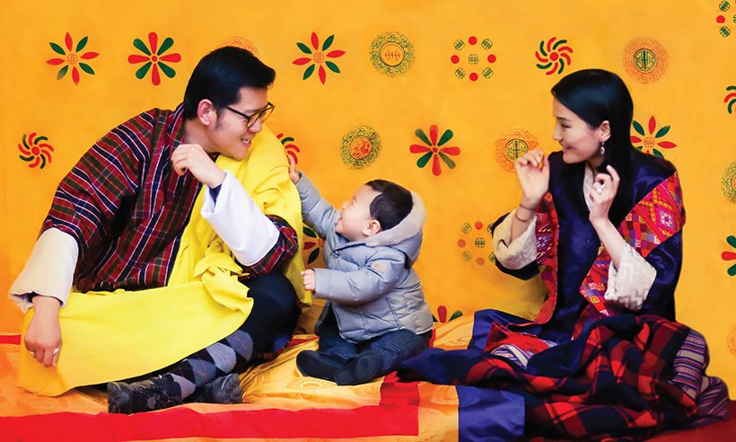 The youngster is growing up so fast! 