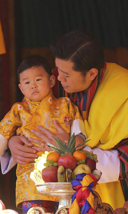 Jigme bears a striking resemblance to his father King Jigme Khesar Namgyel Wangchuck. 