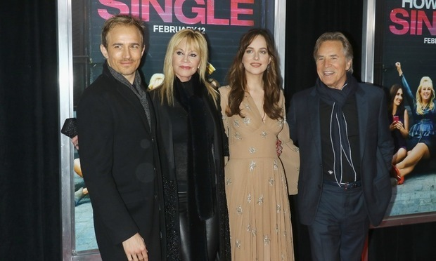 Dakota's famous family includes mom Melanie Griffith and dad Don Johnson.