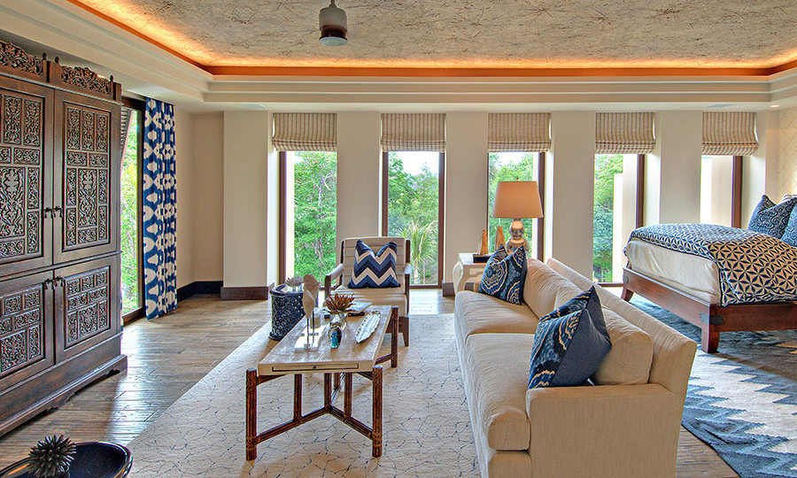 There are eight seriously gorgeous suites where guests can get their beauty sleep. Each room includes an ensuite bathroom, a walk-in closet, and even a morning coffee service, perfect for a lazy morning before hitting the pool! 