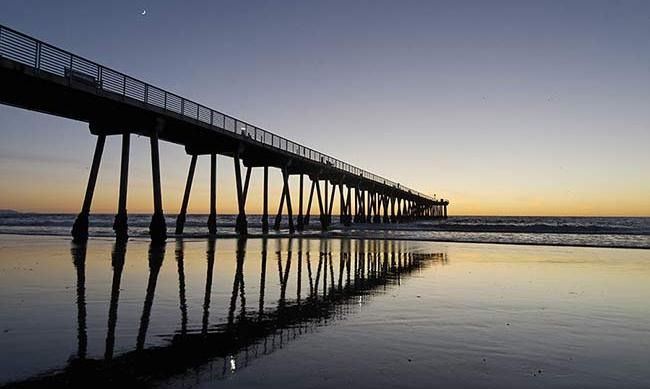 <h3>Hermosa Pier</h3><p><em>La La Land</em> fans will recognize this pier as the place that Sebastian sang to City of Stars, while gazing out to the Pacific Ocean. Spend the day soaking up the California sun on Hermosa beach and pier before paying a visit to one of the lively jazz bars nearby.</p>