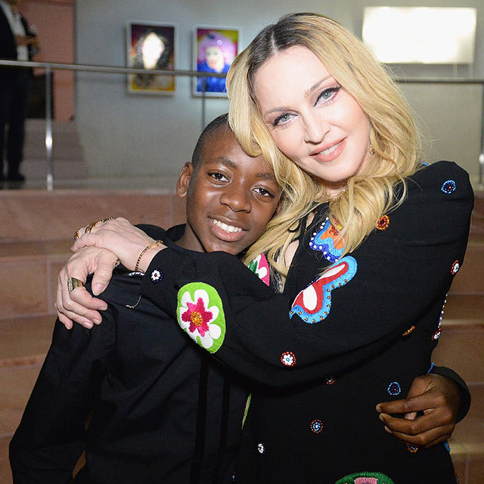 Madonna adopted David from Malawi in 2006.