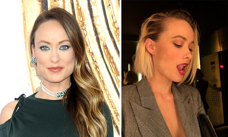 "Olivia Wilde is the latest famous face to go blond, and unveiled her new bleached bob on Instagram on Tuesday. ""Oh what's up, BLONDE LIFE,"" she captioned a photo of her edgy new do. 