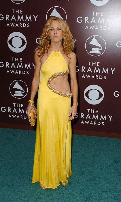 <h3>Sheryl Crow in Roberto Cavalli</h3><p>The singer took a page from <em>Dancing with the Stars</em> in this belly-baring dress.</p><p>Photo: © Getty Images</p>