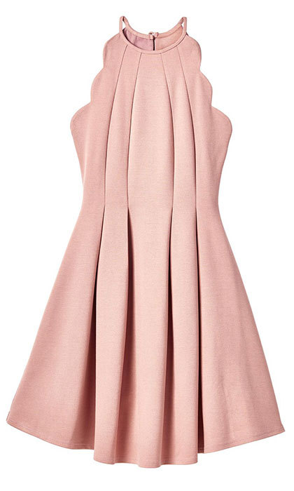 "<strong>Blush Dress with Scalloped Detail</strong>, $30, <a href=""http://marshallscanada.ca"" target=""_blank"">marshallscanada.ca</a>"