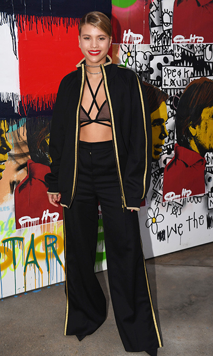 Sofia Richie at Tommy Hilfiger