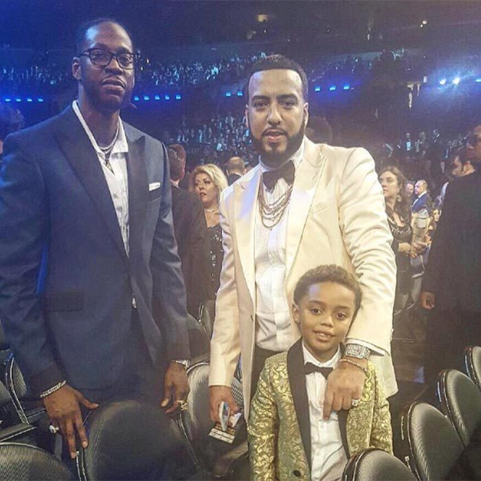 French Montana brought a very special guest along to the Grammys this year – his adorable son Kruz!