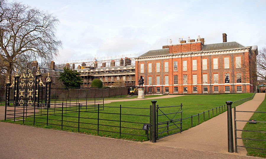 "Trees are being planted alongside Kensington Palace for reasons of ""privacy and security"".
