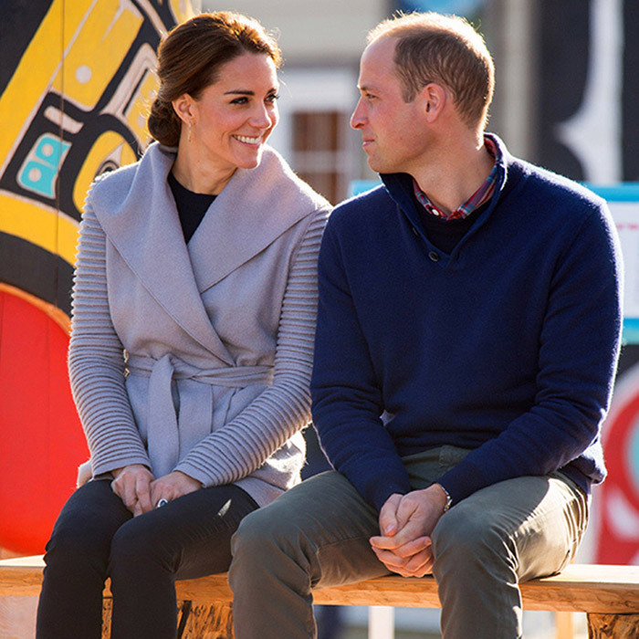 The couple are always in perfect harmony, and protective William cares deeply for Kate, who he first met at university many years ago.