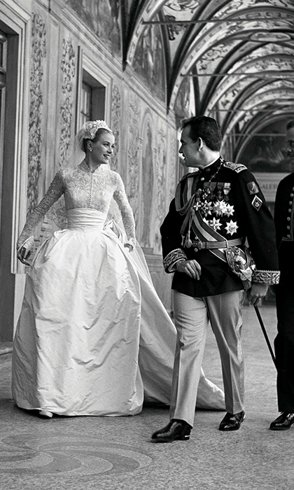 "<h3>Prince Rainier of Monaco and Grace Kelly</h3><p>One of the 20th century's most emblematic love stories began when America's golden girl, Grace, agreed to do a photoshoot at the Palace in Monaco. Its owner, Prince Rainier, was there to welcome her. She loved animals and was charmed when he showed her his pet tigers. And as they walked in the garden, they realized that despite their confidence now, they'd both been shy and lonely children. She liked his old-world charm and he liked her fresh, American spontaneity. She said she was only now beginning to learn how to live as a public figure – and he said he sympathized.</p><p>The pair wrote countless letters over the following months and, when he came to visit her for Christmas, he asked her to become his Princess. She said yes. Over the following years, Princess Grace was to bring limelight and elegance to her adopted country and, having given up her acting career, she devoted herself with the same star presence to public duty.</p><p>Yet while the world would never forget how thousands greeted her arrival by ship in Monte Carlo, and the pomp and fanfare of her wedding, she herself saw things a little differently. ""When I married Prince Rainier I married the man and not what he represented or what he was. I fell in love with him without giving a thought to anything else,"" she said.</p><p>Photo: &copy; Rex</p>"