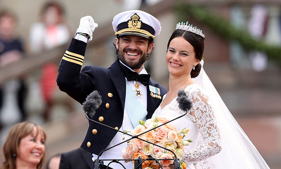 "<h3>Prince Carl Philip of Sweden and Sofia Hellqvist</h3><p>As a star of <em>Paradise Hotel</em> – a <em>Big Brother</em>-style reality show with a tropical twist – Sofia had bared both body and soul on the small screen before she met handsome Prince Carl Philip through friends in 2009. ""It was love at first sight,"" recalled Sofia, who'd also studied business and accounting, taught yoga, and set up her own children's NGO.</p><p>The pair didn't wed until June 2015, by which time they knew Carl Philip's choice had won public acceptance. As for his family: ""My parents and my sisters were curious about her, open, and welcomed her with a big hug,"" he said.<p>Photo: &copy; Getty Images</p>"