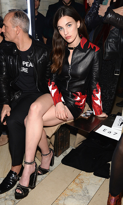 Margaret Qualley at Philipp Plein