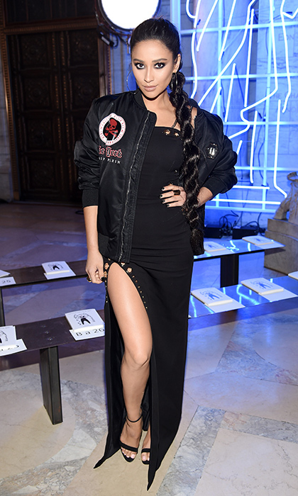 Shay Mitchell at Philipp Plein
