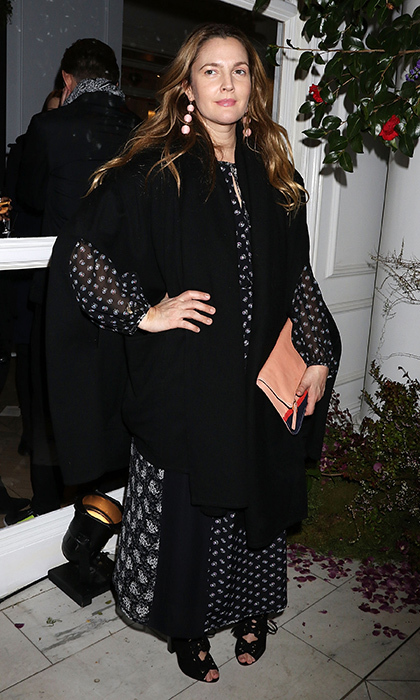 Drew Barrymore at Club Monaco
