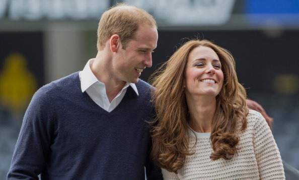We love this photo of Prince William and Kate, taken during their official tour to New Zealand.
