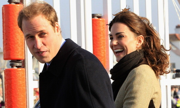 Even during formal, official engagements, Prince William and Kate have each other in stitches.