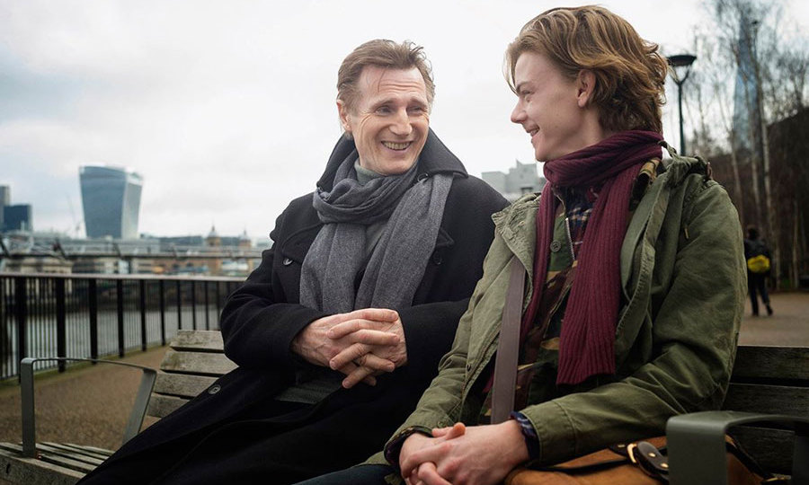 Liam Neeson and Thomas Brodie-Sangster have reunited to film scenes for the highly-anticipated <em>Love Actually</em> sequel - 14 years after the original movie's release.