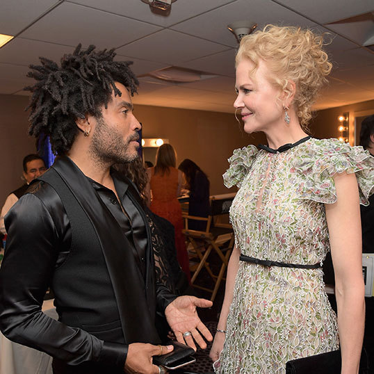 Nicole has revealed she was engaged to Lenny Kravitz.