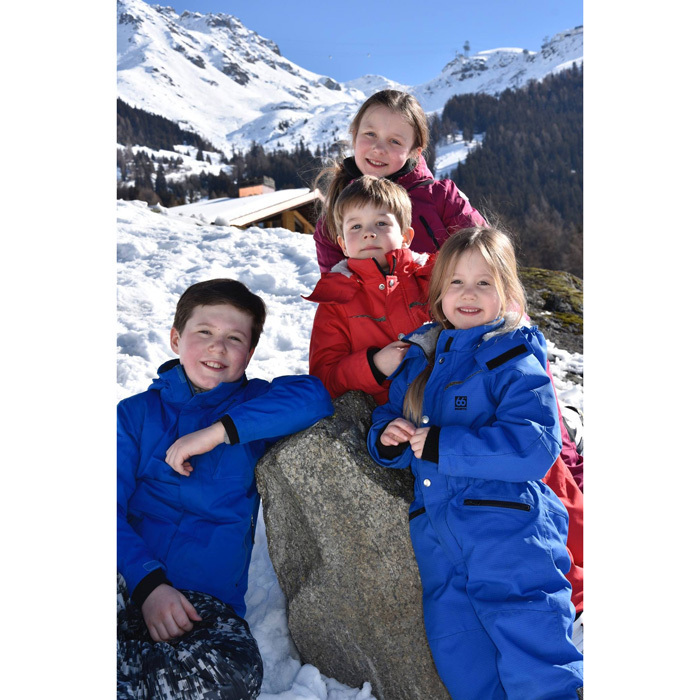 "The Danish royal family hit the slopes! Crown Princess Mary and Crown Prince Frederik of Denmark along with their four children, Prince Christian, Princess Isabella, Prince Vincent and Princess Josephine, enjoyed a ski holiday in Verbier, Switzerland, which is recognized as ""as one of the premiere 'off-piste' resorts in the Alps and in the world."" The royal palace shared photos from the family vacation captioning the album, ""Sunshine in the snow.""