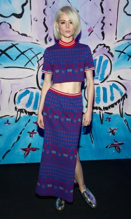 Coco Rocha at Anna Sui