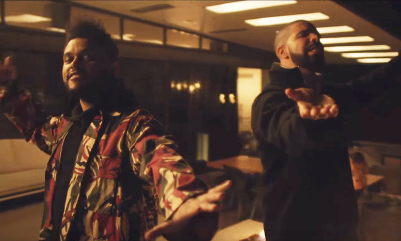 Drake And The Weeknd Rekindle Their Friendship In New