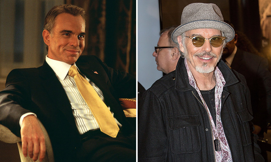 <h3>Billy Bob Thornton as the President of the United States.</h3><p>Billy Bob has appeared in a number of films since 2003 – including <em>The Alamo</em>, <em>School for Scoundrels</em>, <em>Eagle Eye</em> and <em>Faster</em>. He also starred in the first series of TV anthology <em>Fargo</em> in 2014, earning him a best actor Golden Globe. The 61-year-old US actor has been married six times and has five children; he has been married to with makeup effects crew member Connie Angland since October 2014.</p><p>Photo: © Getty Images</p>
