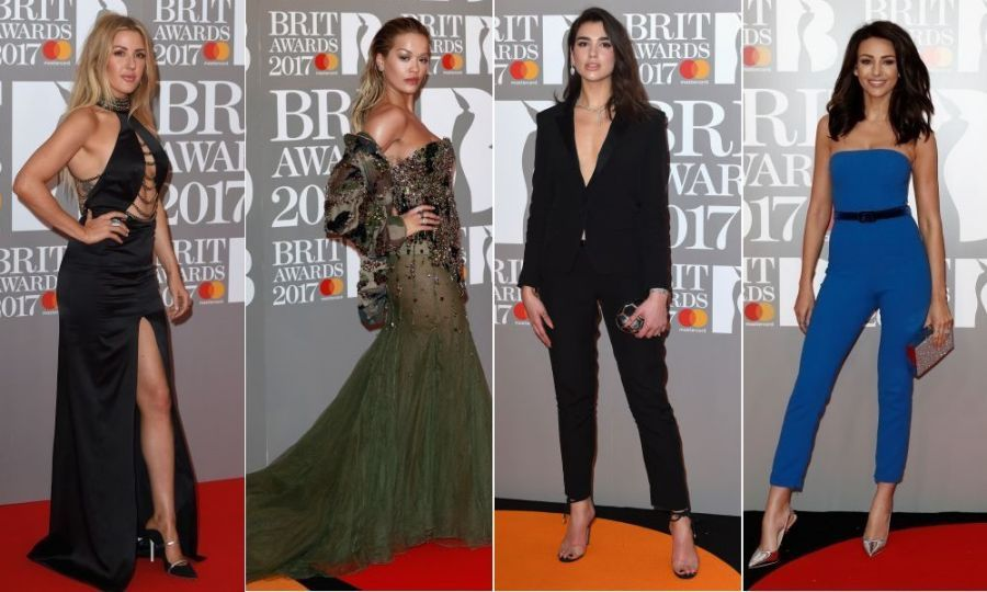 <p>It's the biggest night in British music, so it's no wonder stars including Katy Perry and Ellie Goulding pulled out the stops for the 2017 BRIT Awards on Wednesday evening.