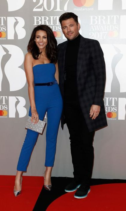 Former <em>Coronation Street</em> star Michelle Keegan wowed as she arrived at the O2 Arena on the arm of her husband Mark Wright.
