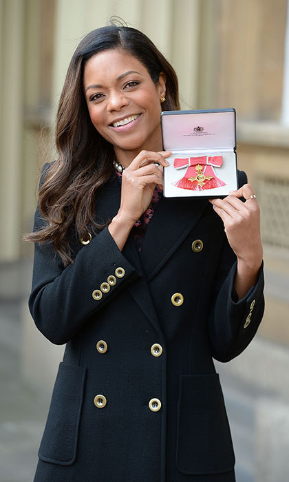 Naomie Harris has officially became an Office of the British Empire.