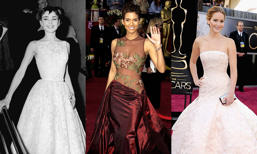 the best oscar dresses of all time editors� picks hello
