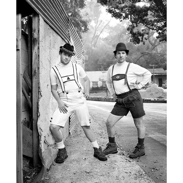 <h2>Seth Rogen and Paul Rudd, 2007</h2>