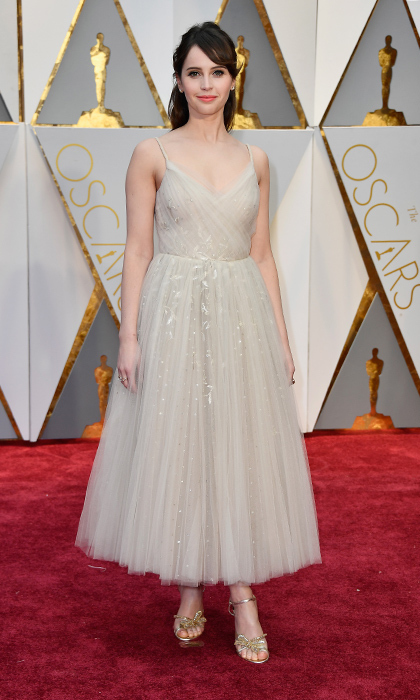 <h3>Felicity Jones in Dior</h3><p>Photo: © Getty Images</p>