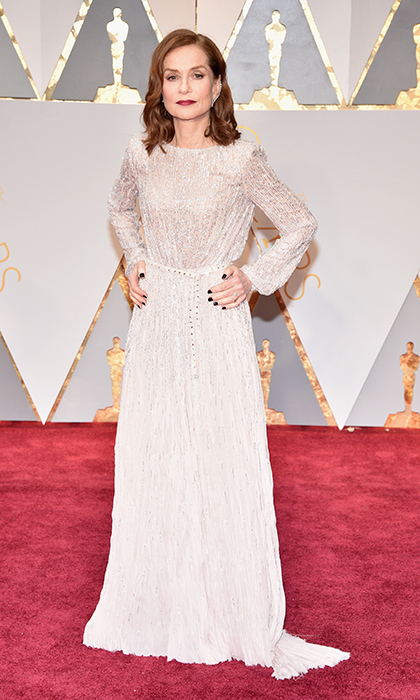 <h3>Isabelle Huppert in Armani Prive</h3><p>Photo: © Getty Images</p>