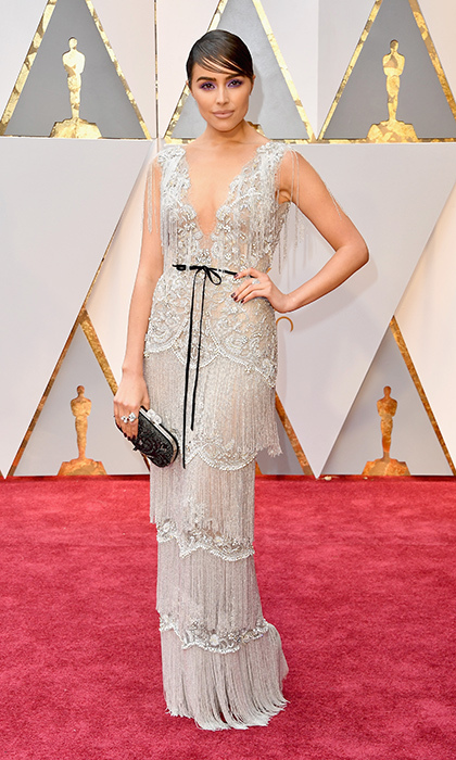 <h3>Olivia Culpo in Marchesa</h3><p>Photo: © Getty Images</p>