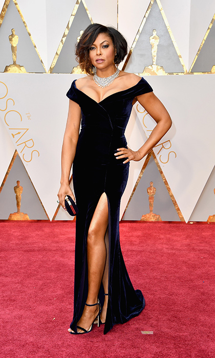 <h3>Taraji P. Henson in Alberta Ferretti</h3><p>Photo: © Getty Images</p>