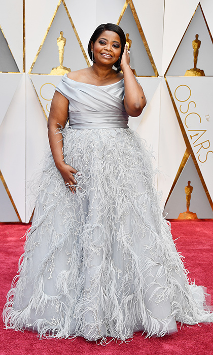 <h3>Octavia Spencer in Marchesa</h3><p>Photo: © Getty Images</p>