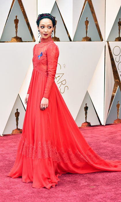 <h3>Ruth Negga in Valentino</h3><p>Photo: © Getty Images</p>