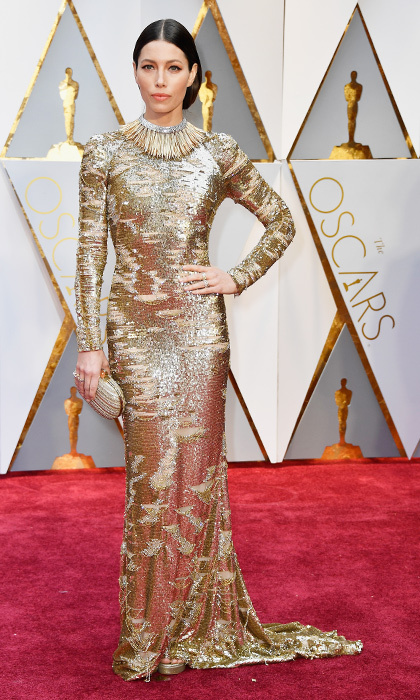<h3>Jessica Biel in KaufmanFranco</h3><p>Photo: © Getty Images</p>