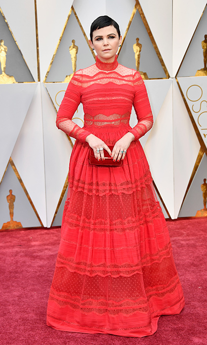 <h3>Ginnifer Goodwin in Zuhair Murad</h3><p>Photo: © Getty Images</p>