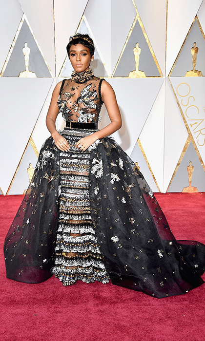 <h3>Janelle Monae in Elie Saab</h3><p>Photo: © Getty Images</p>