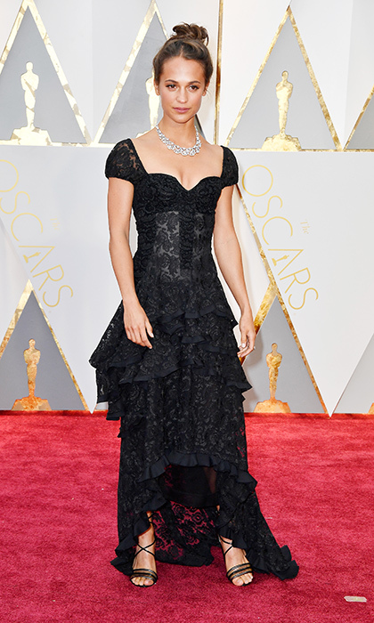 <h3>Alicia Vikander in Louis Vuitton</h3><p>Photo: © Getty Images</p>