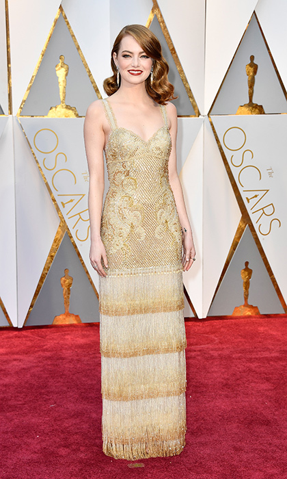 <h3>Emma Stone in Givenchy</h3><p>Photo: © Getty Images</p>