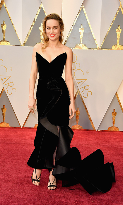 <h3>Brie Larsen in Oscar de la Renta</h3><p>Photo: © Getty Images</p>